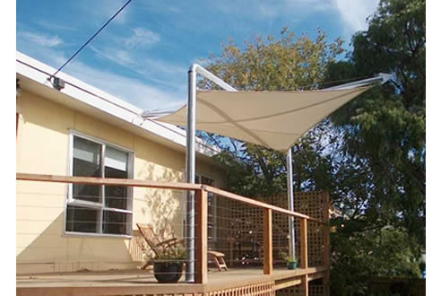 Floating Shade Sail From Mulders