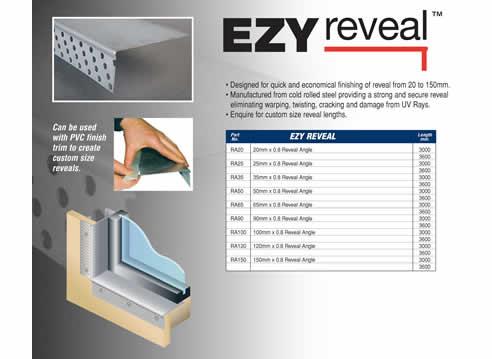 Ezyjamb Ezy Reveal Window Finishing From Studco Building