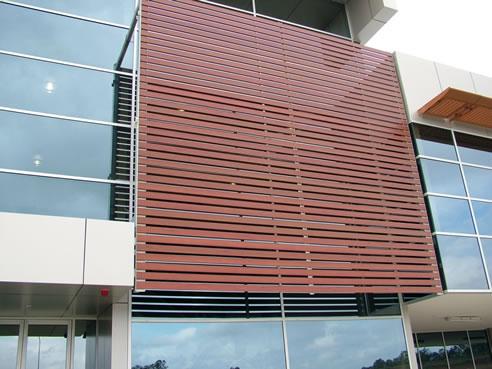 Wood Grain Powder Coating On Aluminium With Decowood