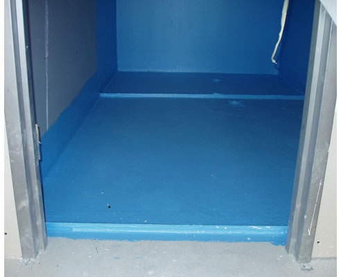 Bathroom waterproofing products