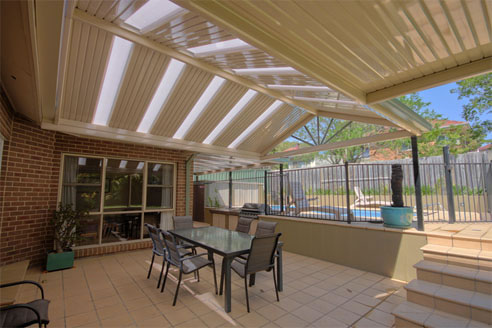 Colorbond 169 Steel Framed Pergolas From Pergola Land