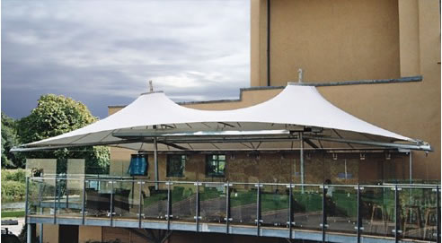 Tensile Membrane Canopy From Tension Span Structures