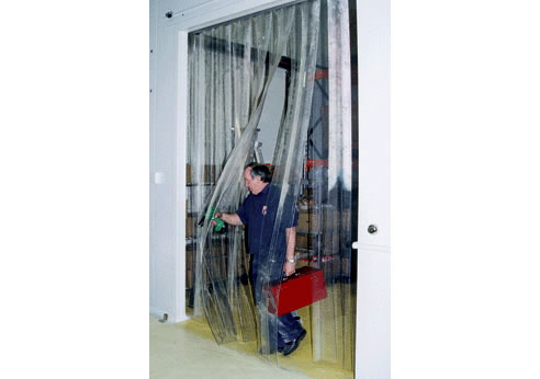 plastic strip door  sc 1 st  Spec-Net & Industrial Plastic Strip Doors from Premier Door Systems