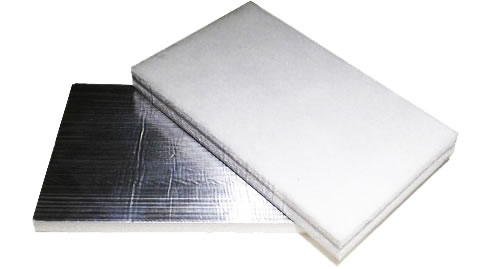 rigid acoustic laminate marine insulation