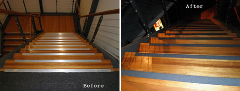 Superieur Before And After Safe Grip Stair Nosing