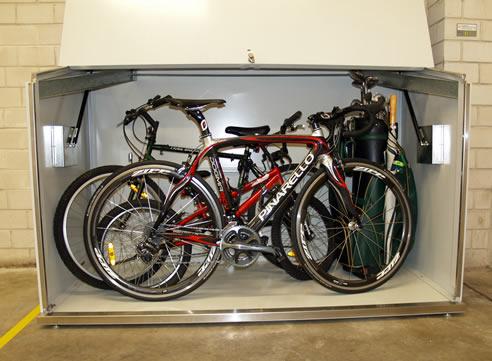 Bicycle Storage With Bikebox Space Commander Auburn Nsw 2144