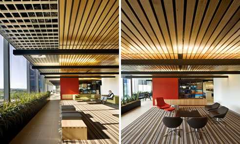 Slatted Ceiling Panels Meet Green Star Ratings Supawood