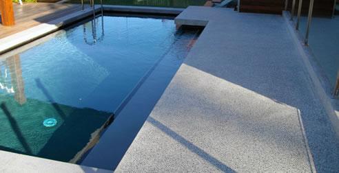 Polished Concrete Pool Surrounds Tilebuster Australia