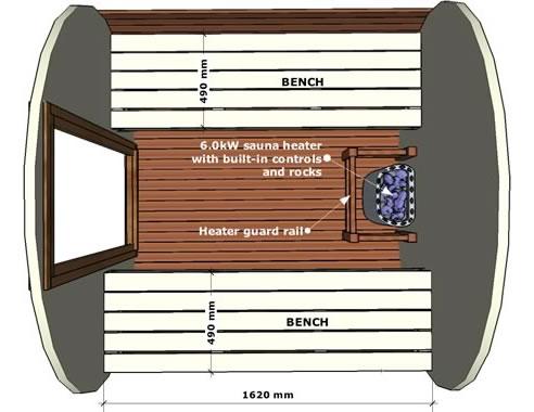 cedar barrel sauna ukko saunas st marys nsw 2760