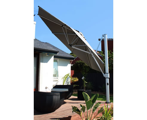Cantilever Umbrella The Eclipse Instant Shade Umbrellas Moorabbin