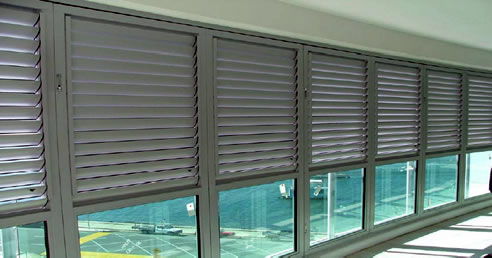 High Rise Balcony Shutters Rollashield Revesby Nsw 2212