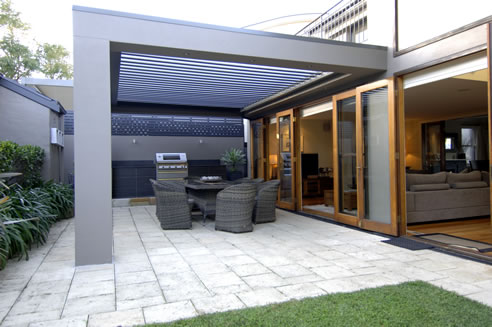 Opening Roof System For Outdoor Entertaining Vergola