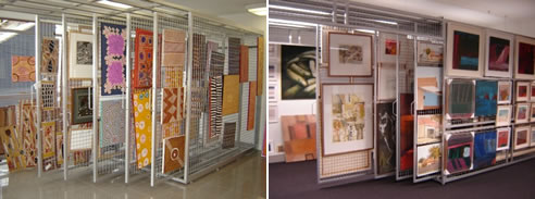 Artrac Painting Storage System From Art Hanging Systems