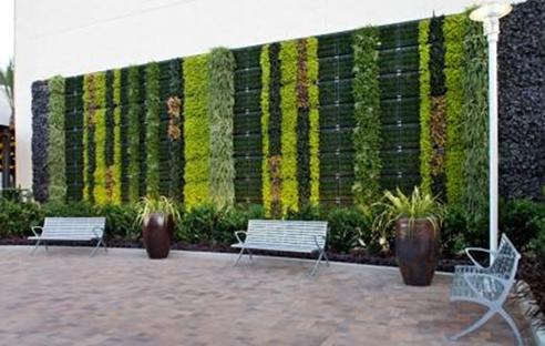 Vgm Green Wall At Fashion Valley Mall Elmich Australia