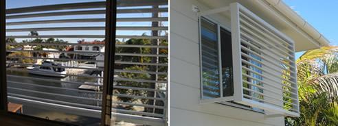window sun blocker exterior window sun solutions solar control louvre unique window services geebung qld 4034