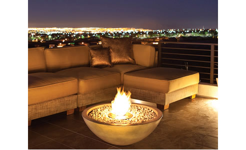 Bioethanol fire pit mix fire bowl ecosmart fire for Alcohol fire pit