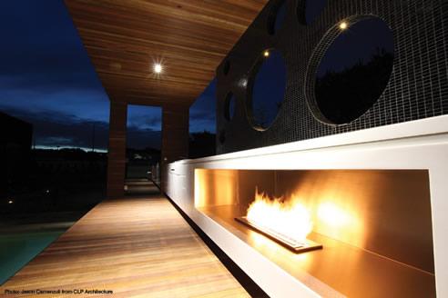 outdoor bioethanol fireplace solutions ecosmart fire. Black Bedroom Furniture Sets. Home Design Ideas
