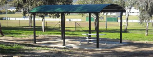 Park Shelters Brisbane Gossi Park Amp Street Furniture