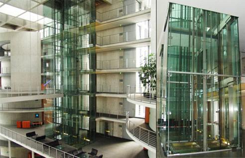Hinges For Frameless Glass Lift Shafts Manfred Frank