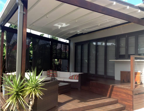 Outdoor Blinds Patios