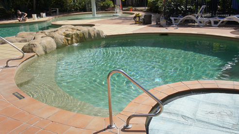 Chlorine Free Swimming Pool With Hydroxypure System Waterco