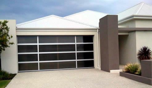 multi-cell perspex garage door. Deville Garage Doors Profile & Modern Garage Doors Sydney | Deville Doors