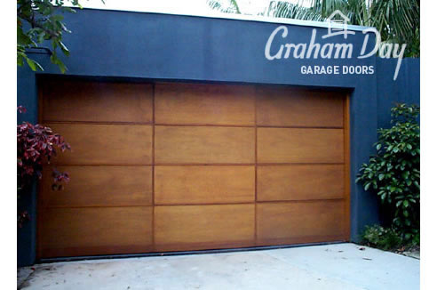 sectional timber garage door & Sectional Timber Garage Doors Sydney | Graham Day Doors