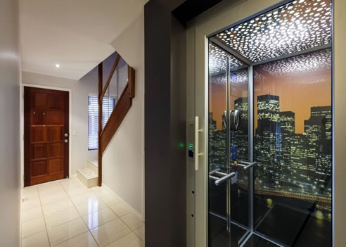 custom designed elevators easy living home elevators