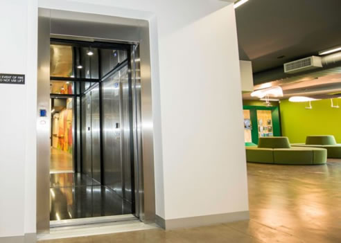 Master builders association selects easy living home elevators for Easy living elevators