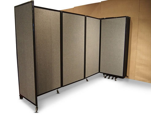 Elegant Acoustic Wall Mounted Room Divider
