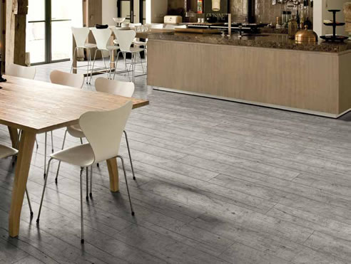 grey timber flooring