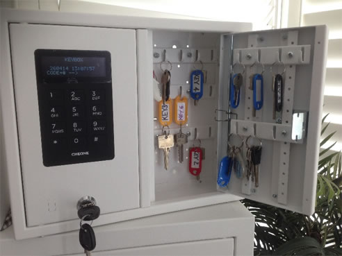 Automatic Key Dispensers Keywatch Systems Qld