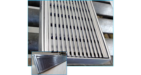 Stainless Steel Floor Grate Trough National Stainless Steel