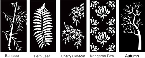 Plant Design Decorative Screens Qaq Architectural
