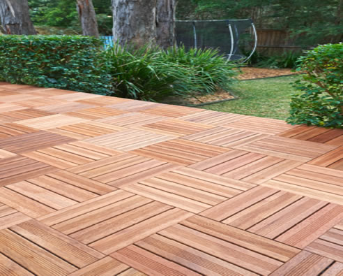 Merbau Timber Deck Tiles Simmonds Lumber