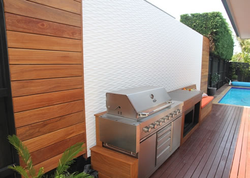 Decorative Outdoor Panelling
