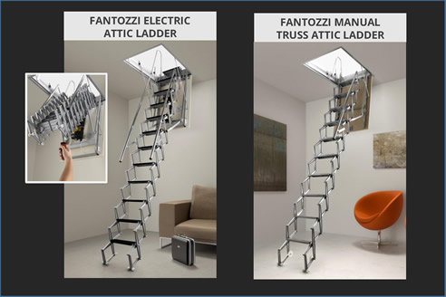 Concertina Attic Ladders from Attic Group & Concertina Attic Ladders | Attic Group