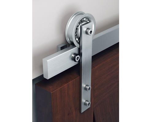 Industrial Style Sliding Door Hardware Brio