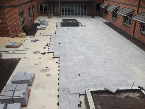 Lightweight Rooftop Paving With Versipave Khd