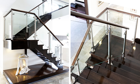 Modern U Shaped Staircase S Amp A Stairs