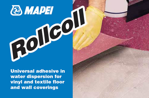 Vinyl And Textile Floor Adhesive Rollcoll Mapei