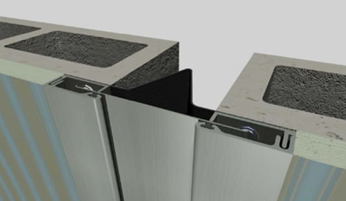 Aluminium Wall Expansion Joints Unison Joints