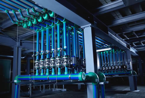 Prefabrication For Aquatherm Pipe Systems