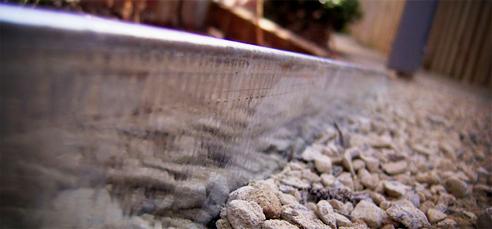 Australian Made Galvanised Steel Garden Edging From FormBoss