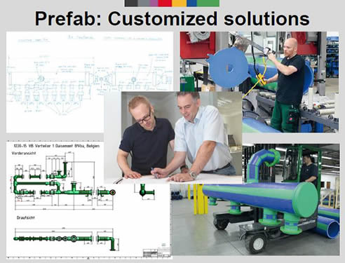 aquatherm prefabrication customised solutions