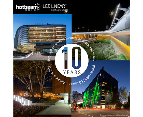 Linear lighting products from HotBeam