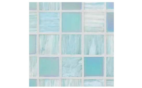 light pale blue swimming pool tiles
