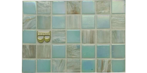 Bisazza mosaic pool tiles