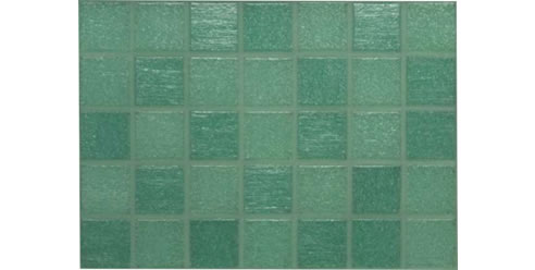 Aqua glass mosaic pool tiles