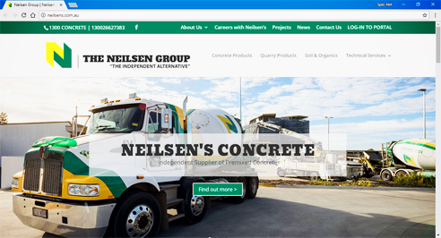 Premixed concrete and quarry products from The Neilsen Group